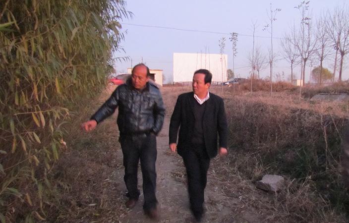 山東省濱州市林業局康局長在賓基地
